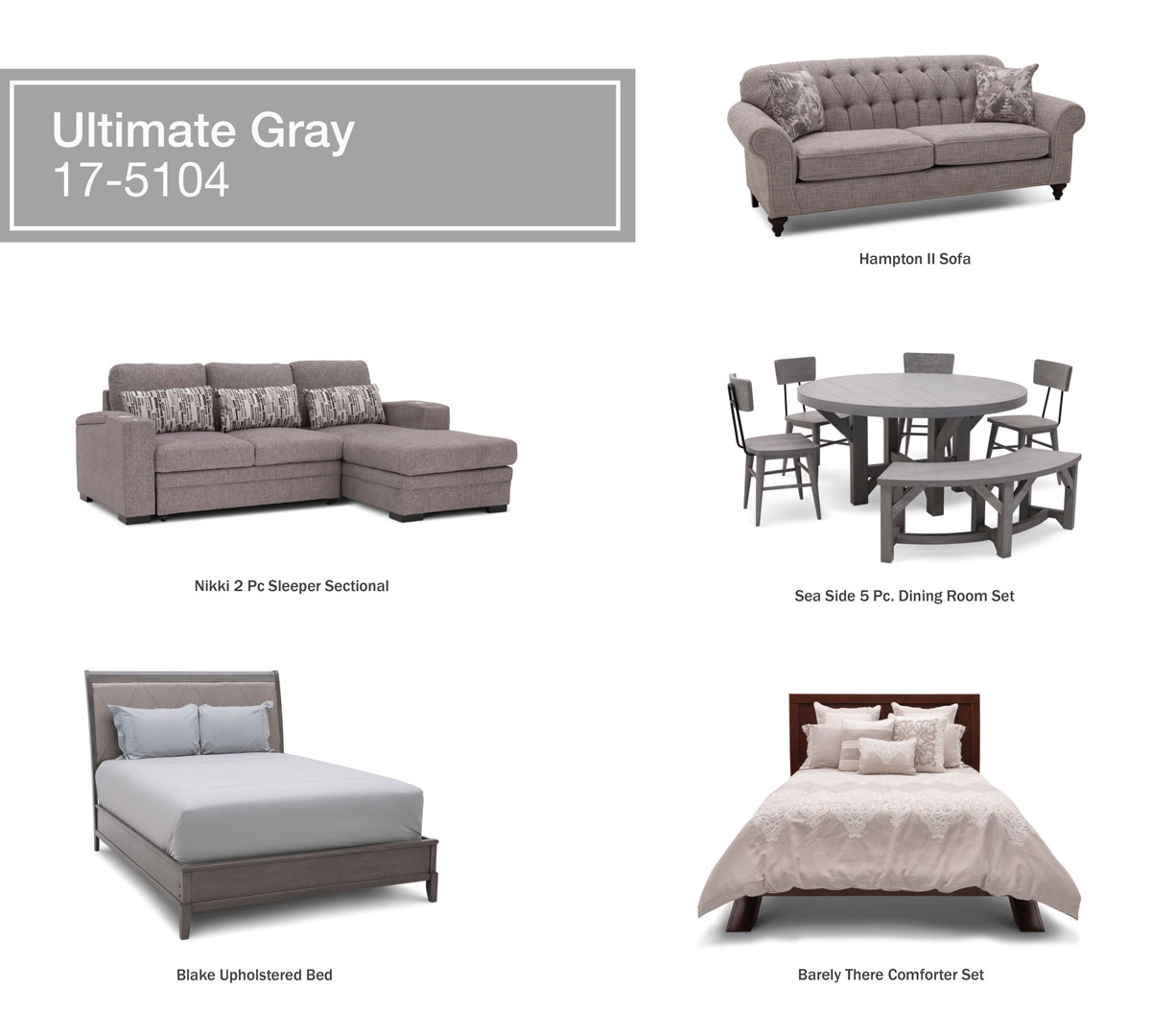 Ultimate Gray Products