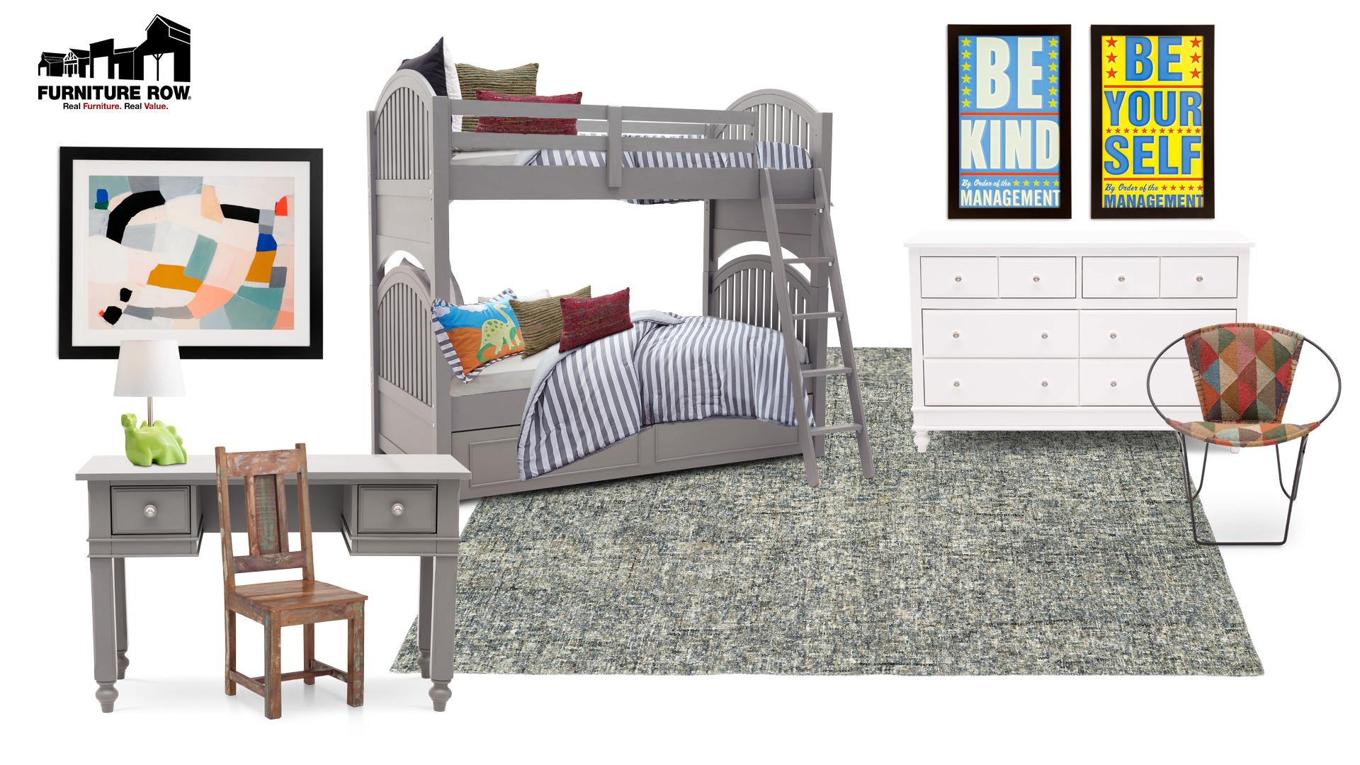 Furniture Row Kids Bedroom