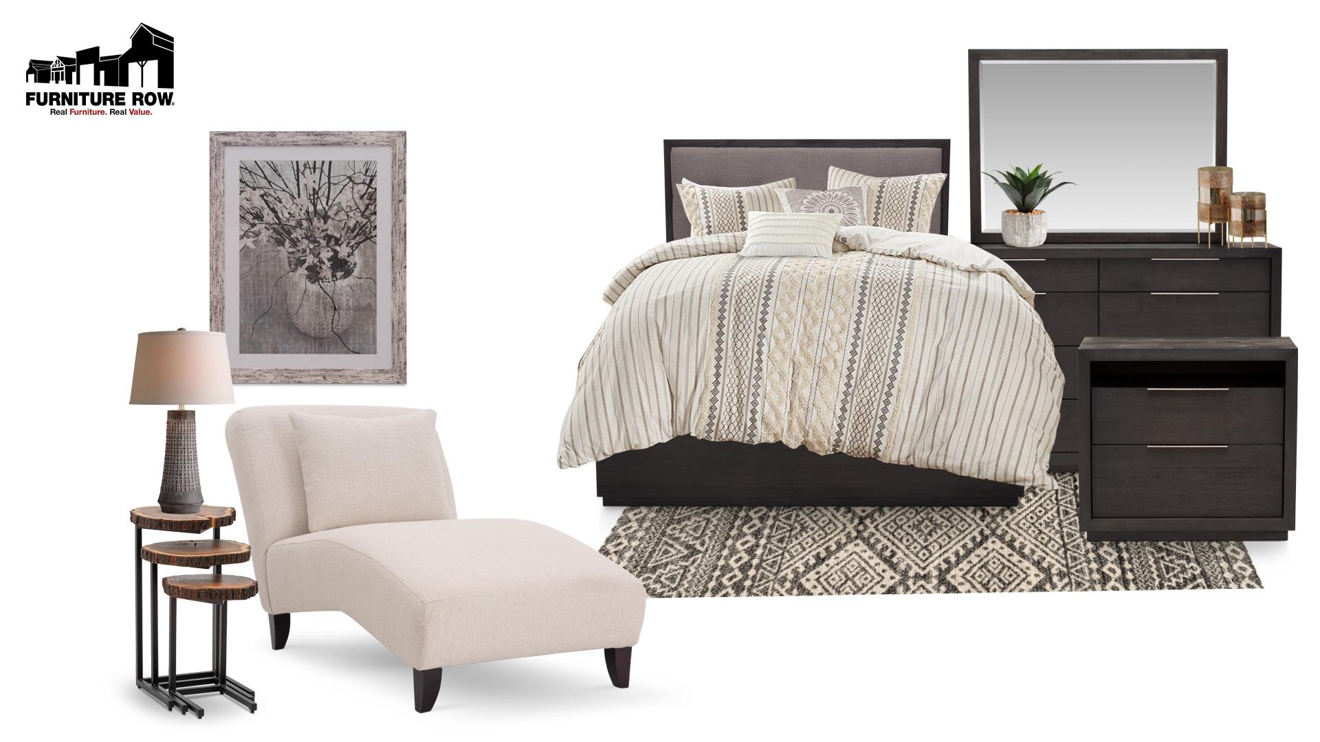 Furniture Row Bedroom