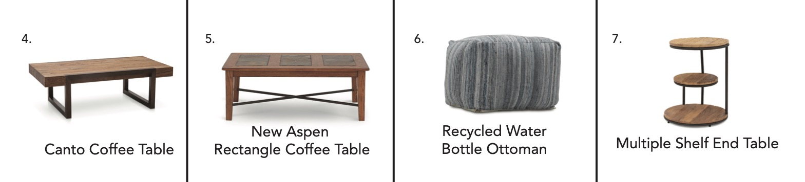 Tables and Ottoman