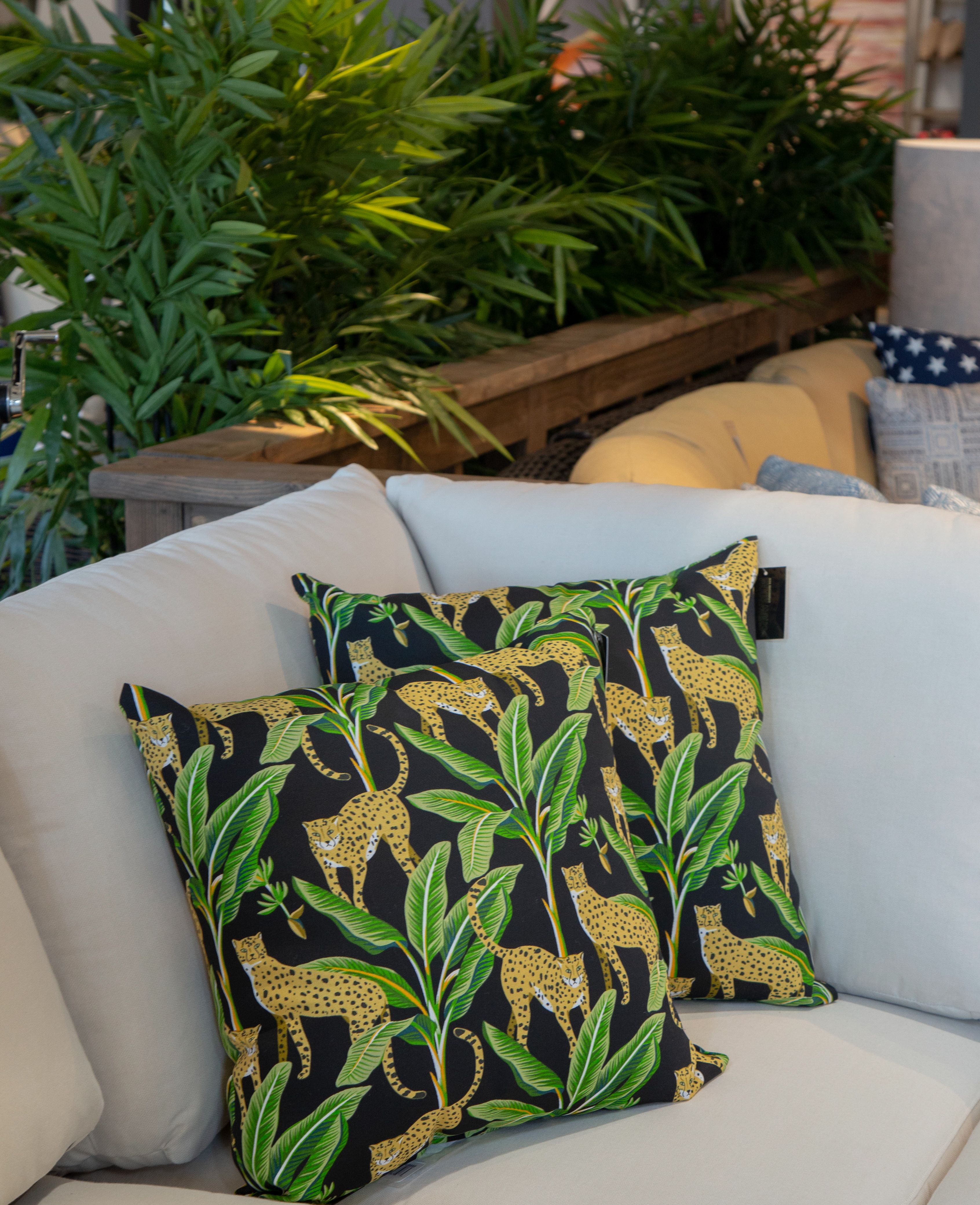 Patio Decor Selection at the Showroom by Furniture Row