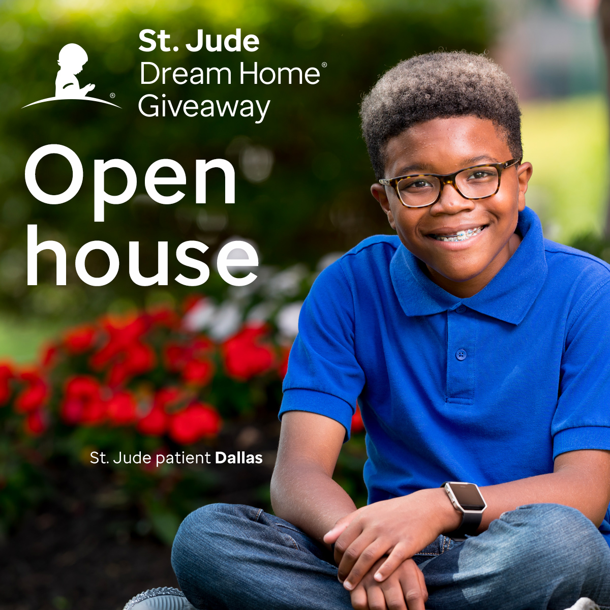 St. Jude Dream Home Giveaway Open House Featuring a St. Jude Dallas Patient