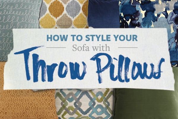 How to Style Your Sofa with Throw Pillows